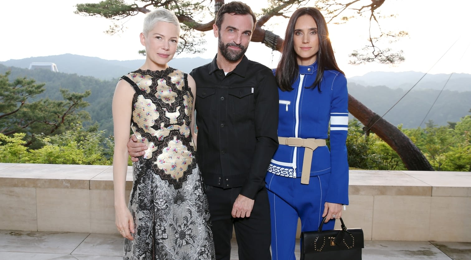 Michelle Williams, Nicolas Ghesquiere, Jennifer Connelly.jpg