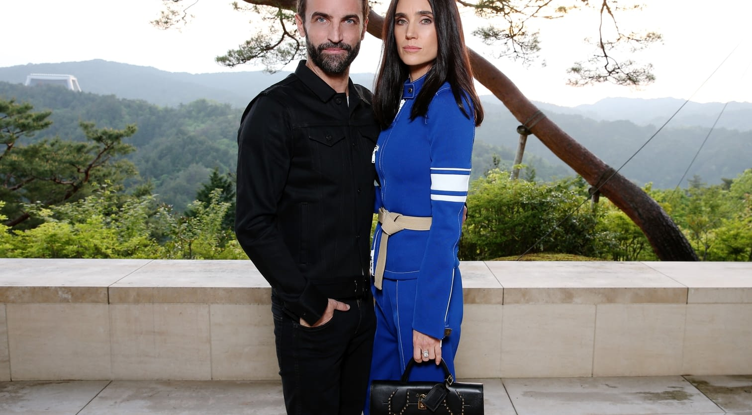 Nicolas Ghesquiere, Jennifer Connelly.jpg
