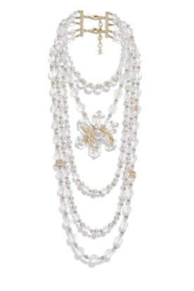 AB2564-Y47868-Z9290 Necklace in golden metal with glass beads, resin and strass.jpg