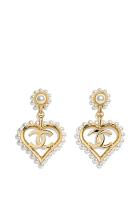 AB2597-Y47895-Z8906 Earrings in golden metal with glass beads.jpg