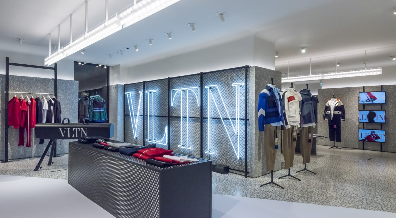 PARIS - VLTN Store Installation at Valentino Rue Saint Honore Store (6).jpg