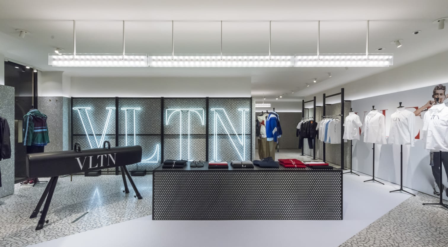 PARIS - VLTN Store Installation at Valentino Rue Saint Honore Store (16).jpg